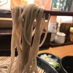 信州そばと地酒 小木曽製粉所 - ざるそば@500円
