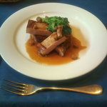 融合料理 まごころ - 和豚もちぶたステーキ
