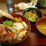 炉端かば - 海鮮丼(850円)