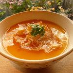 祇園NITI - 焼きおこわの茶碗蒸し