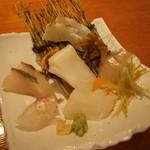 11130877 - 縞鯵・鯛・イカ・すごく新鮮で、ひと手間かけてます!