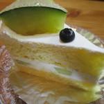 111302008 - アンデスメロンのショートケーキ!