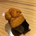 鮨たけ - ウニ