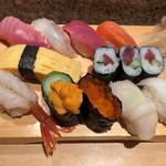 魚がし鮨 - 特上にぎり