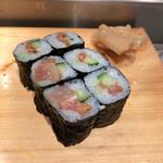 魚がし鮨 - ヒモキュウ