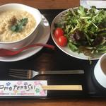 さすらいCAFE - 料理写真:玄米チーズリゾット