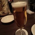 あんずき - 生ビール