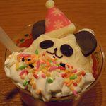 サーティワンアイスクリーム - クリスマスハッピードール・ぱんだ(390円、子供用)
