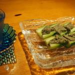 錦 - 蟹味噌 胡瓜