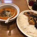 陳麻家 - ハーフ担々麺と陳麻飯のセット