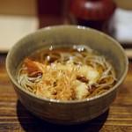 日本橋 蕎ノ字 - 料理写真:海老天蕎麦!