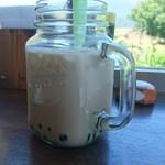 ペレニアルロックガーデン春子谷地 cafe ミルクの里 - タピオカ ミルクティー