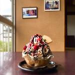 楽食*宝山 - 料理写真:ベリーショコラ・ラテ氷
