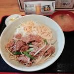 111325836 - 牛焼肉丼550円