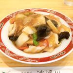 中国料理 沙流川 - 五目焼そば