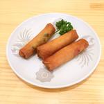 中国料理 沙流川 - 春巻