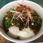 龍門瀑 - 料理写真:黒カラシビ麺 辛みネギ