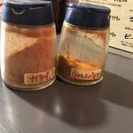 カレーライス Cari-Rio - 辛味調味料