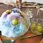 FLAG - フルーツ蜜氷紫陽花の色彩かき氷(6月限定)