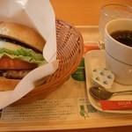11134017 - 金のテリヤキとブレンドコーヒー