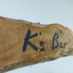 K's Bar - 看板