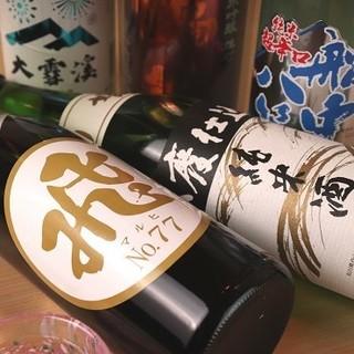 鰻をはじめとした和食を引き立てる美酒