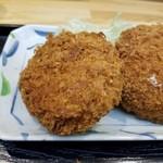 串鳥 - メンチカツ