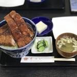 111345274 - ロースかつ丼 ¥1550
