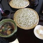 紫仙庵 - 鴨汁せいろ