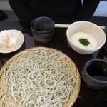 紫仙庵 - 自然薯摺りおろしせいろ
