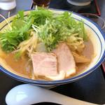 麺や 北町 - 料理写真:野菜味噌 大盛り