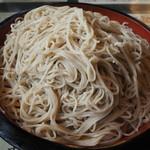 やぐら亭 - 料理写真:もりそば700円+中盛り210円。