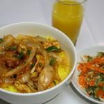 クリスナキッチン 本格インド・ネパール料理店 - チキンチリ定食