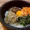 マシソヨ - 料理写真:石焼ビビンバ
