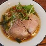 麺屋ほぃ - 料理写真:お魚清湯ラーメン(^^)/