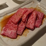 YAZAWA - カルビたれ焼き! 950円!