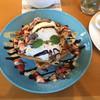 カフェ シュクル - 料理写真:ストロベリーチョコレートワッフル
