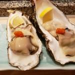 つかさ鮨 - 殻牡蠣