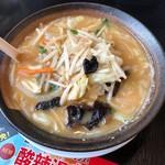 幸楽苑 - 味噌野菜たんめん(640円)