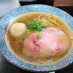 111378190 - 塩煮干らー麺+味玉