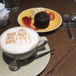 KOUME CAFE×DINING - フォンダンショコラ