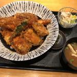 魚と創作料理 だん - 大海老・大穴子天丼