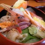 寿し駒 - 特上海鮮丼