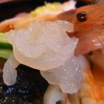 寿し駒 - 特上海鮮丼(白エビアップ~♪)