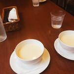 グランデ - 最初はスープ