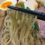 らぁ麺 幸跳 - 麺 リフト (^^;