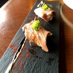 yakeiitarianandonikubaruji-bi- - 和牛あぶり寿司