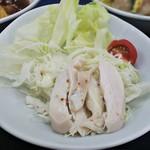 餃子の王将 - 棒棒鶏サラダ
