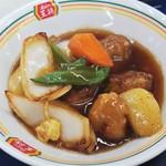 餃子の王将 - ミニ酢豚