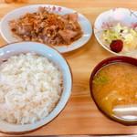 かわら食堂 - 料理写真:もつ定食